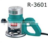 Plunge Router---R3601 Heavy Duty 12mm Tool 930W Motor Woodworking