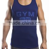 Men's U-neck gym tank top workout active running basketball sport singlet