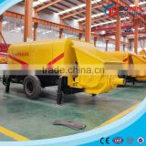 Trailer Mounted Remote Control Concrete Pump for Sale