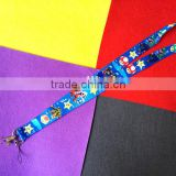 2016 factory bulk cheap customized printed lanyards for sale
