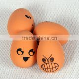 OEM Elastic Solid Rubber Ball Dog Toy Pet Dog Toy And Entertainment Partners/EGG shape pet toy wholesales