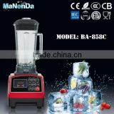 Beauty commercial smoothie ice cream blender with CE CB ROHS certification