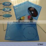 7mm bluray Single dvd case with Print Blu-ray logo