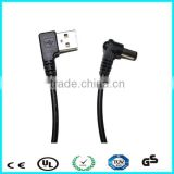 5v 22awg right angle 2.1mm usb dc power cable                                                                                                         Supplier's Choice