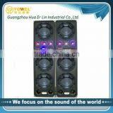2.0 Active Stage Audio Speaker For Sale PA Speaker China DJ Equipment mp3 player with built in speaker