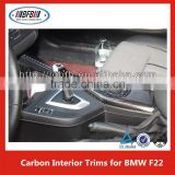 F22 carbon fiber interior trim, Carbon Fibre Car interior decoration For BMW 2 series