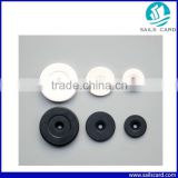 Different Size ABS Round RFID Button Tag With LF/HF/UHF Chips