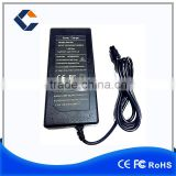Factory direct selling 100-240V 42V 2A Li-ion Battery Charger for Electric Smart Board Balance