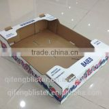 dongguan corrugated paper box for fresh fruit, cardboard boxes for mango,paper packaging box for apple