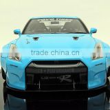 R35 1:18 LB WORKS BABYBLUE Top Quality Custome making 1/18 Diecast Toy Vehicle Model Car