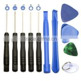 11 in 1 Opening Repair Tools Phone Disassemble Tools Set Kit For iPhone For iPad For HTC Cell Phone Tablet PC