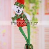 Newest sale trendy style Santa Claus Doll Pendant New Hot Cute Christmas gift with good offer