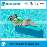 intex comfortable blue pvc inflatable swimming pool float lounger, water lounger, sunshine island lounger float