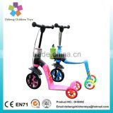 children scooter adjustable flashing wheels kick scooter boys mini stunt scooter girl roller skates