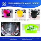 China OEM Factory Top Quality Flexible Household Basement Plastic Beer Storage Basket Injection Mould Making