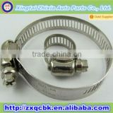ZX Manufacture America Type Stainless Steel Hose Clamp / Pipe Clamp / Stainless Steel Fastener