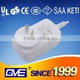 Black/White colour 12V3A power adapter 36W with CE UL SAA certification