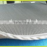 cool garden cushion,spacer fabric chair cushion,3D mesh fabric stucture, no foam,air circulation