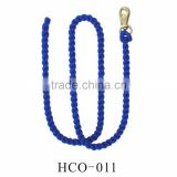 Cotton braided rope with snap hook
