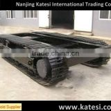 Agricultural equipment mining machinery excavator&dozer undercarriage parts rubber crawler track