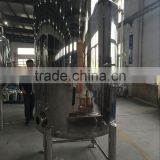 China Stainless steel bright beer tank 1000l