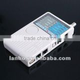 Remote RJ11 RJ45 USB BNC LAN Network Phone Cable Tester Meter