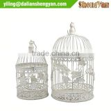 Decorative vintage iron wire bird cage