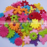 made in china hot new products for 2017 china supplier wholesale alibaba website handmade die cut shapes felt flower for diy