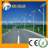 HRS CE and RoHS Approved 100W Solar Street Light Solar Street Lantern