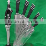 8 pcs knife set with stand