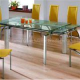 Tempered Glass Dinner Table