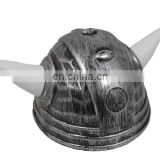 Kids plastic viking helmet with horns