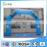 Sunway High Quality PVC Tarpaulin Inflatable Football Sport Arch Way, Inflatable Arches Rental