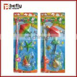 Summer toy magnetic fishing rod game