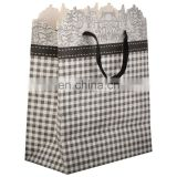 Vinatage and stylist balck and white colour mix antique design base Craft Gift Paper Bag top sale in market.