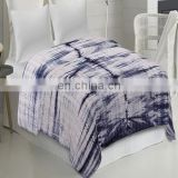 Shibori Kantha Bed cover Indigo Blue Kantha Quilt Hand Quilted Throw Queen sheet