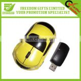 Promotional Car Shaped Wireless Mouse