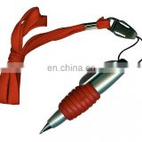 Small Lanyard Plastic Ball Pen