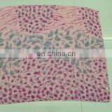 2014 new printed animal voile scarf summer scarf and spring scarf flower