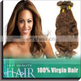 A wide selection of red brown weave Brzailian virgin cuticle aligned hair