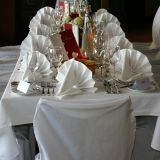 polyester napkin wedding dining tablecloth banquet chair covers