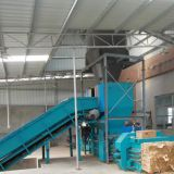 semi-automatic horizontal waste paper packing machine