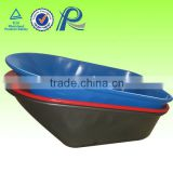OEM avaliable wheelbarrow parts plastic tray 7CU.FT