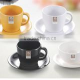 2016 wholesale tableware western-style high-grade melamine coffee cup plastic cup set