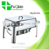Rectangle Stainless Steel Copper Buffet Chafing Dish Electric Heater