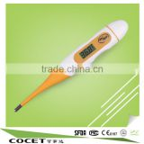 soft head promotion waterproof smart outdoor rotary type CE medical instant portable eletronic clinical digital thermometer