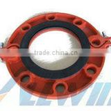 ductile iron Grooved Flange ANSI CLASS 150