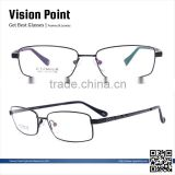 Men full-rim memory metal new style 2015 spectacle frames eyeglasses china online wholesale