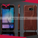 Smartphone Cover Card Holder Phone Case PU Leather Flip Shockproof Case For Samsung Galaxy S6 Active