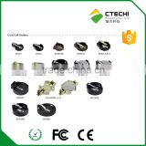 Lithium battery holder for CR1220 CR2032 CR2450 CR2430 CR2477